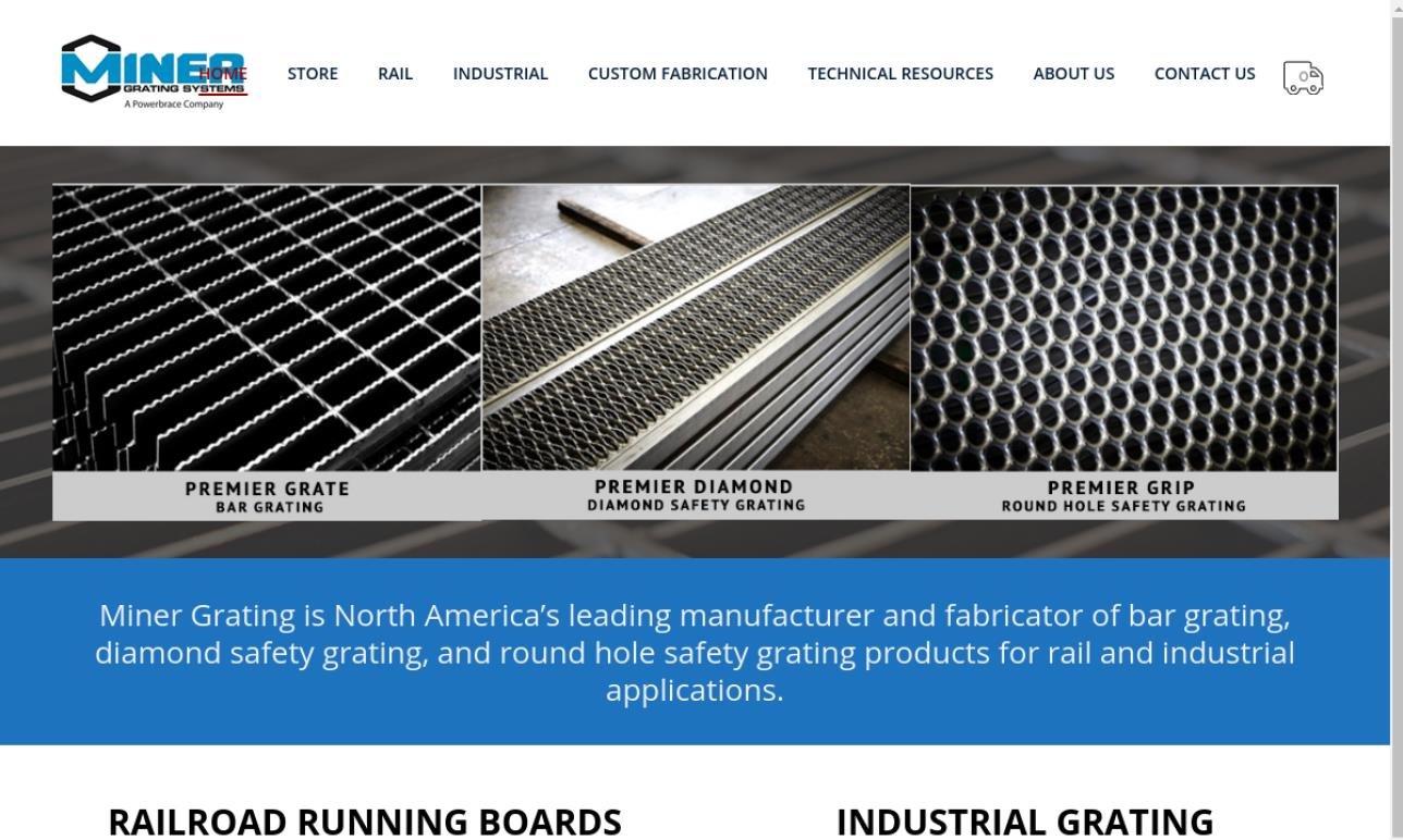 Miner Grating Systems