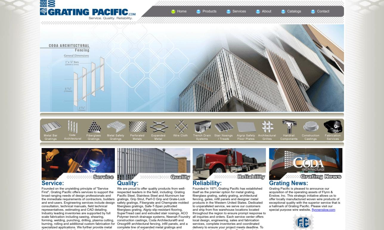 Grating Pacific, Inc.