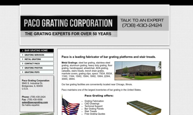 Paco Grating Corporation