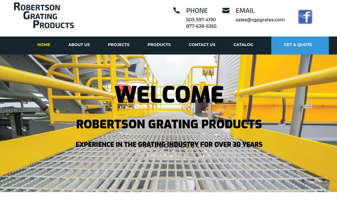 Robertson Grating Products Inc.
