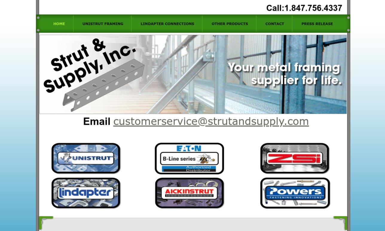 Strut & Supply, Inc.